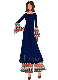 New clothes shop sketch Ideas Dress Design Sketches, Fashion Design Sketchbook, Fashion Design Drawings, Fashion Sketches, Indian Fashion, Fashion Art, Western Dresses For Women, Fashion Illustration Dresses, Fashion Figures