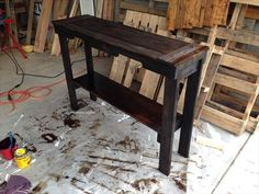 pallet sofa table - Google Search