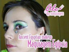 Ancient Egyptian makeup! - Maquiagem Egípcia!