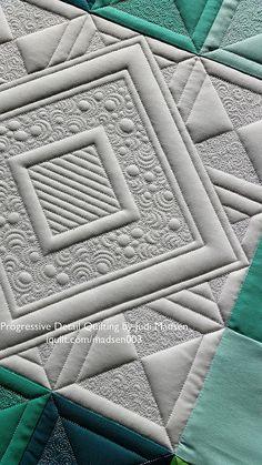 Progressive Detail Quilting by Judi Madsen for iquilt.com… | Flickr