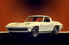 63 Corvette 2nd Generation Vette featured in the seven part history of the Chevy Corvette and the rise of the American Muscle Car - VivaChas Hot Rod Stories!