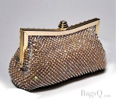 Fancy Rhinestones Lady's Evening & Wedding Bag