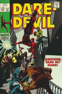 Daredevil # 47 by Gene Colan & George Klein
