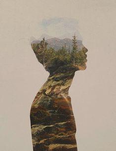 Landscapes Double Exposure Series