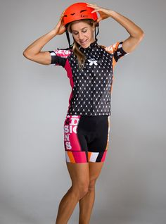289e0fc6c Jacquard Cycle Jersey - Betty Designs - Betty Designs Women s Cycling Jersey
