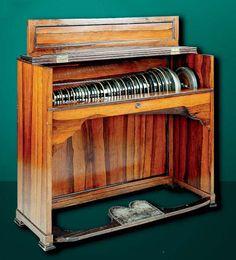 Pianoforte by Nannette Streicher, Vienna 1820 (MS-39)