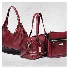 New Collection - Handbags - Hush Puppies - - Fall 2015 - Wine colour Hush Puppies, Hush Hush, Fall 2015, Colour, Handbags, Wine, Collection, Fashion, Color