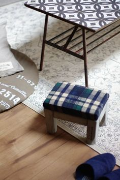 これ可愛い♪子供から大人まで座れる基本の四角い椅子をDIY! LIMIA (リミア)