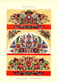 Magyar ornament, Hungarian  ornament,
