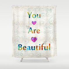 Uplifting Art - You Are Beautiful by Sharon Cummings