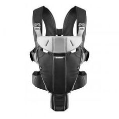 Baby Bjorn Miracle Carrier Black/Silver, Cotton Mix