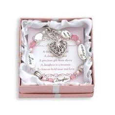 Expressively Yours Bracelet - Love, Daughter, Forever