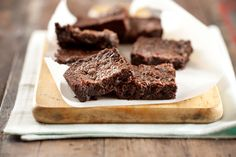 Brownies de chocolate - Maru Botana