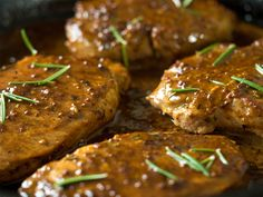 Cider Dijon Pork Chops - pairs great with roasted Fuji apples!