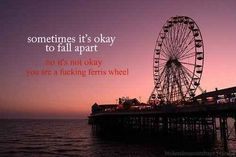 Because a Ferris wheel is not cute.