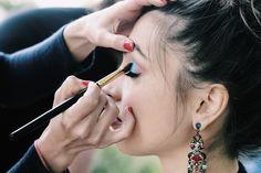 makeup shooting art Parc Cervantes Katratzi Photo*