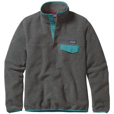 10e517c7c999 Patagonia Women s Synchilla Lightweight Snap-T Pullover ( 69) ❤ liked on  Polyvore featuring