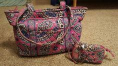 Vera bradley purse and wallet