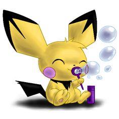 Pichu & Bubbles! ♥