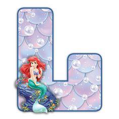 Ariel Cake, Alphabet, Disney Scrapbook, Peppa Pig, The Little Mermaid, Flora, Cakes, Halloween, Ideas