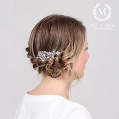 Photo by M i a Rope Braid, Hair Comb, Updos, Braids, Photo And Video, Ios App, Instagram Posts, Hairstyles, Up Dos