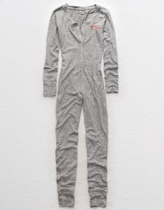 Aerie Plush Onesie  by  American Eagle Outfitters | All the cozy feels! Seriously soft with a touch of luxe.All the cozy feels! Seriously soft with a touch of luxe. Shop the Aerie Plush Onesie  and check out more at AE.com.