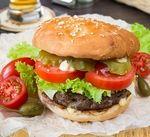 Чизбургер с говяжьей котлетой