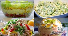 7 Healthy Salad Recipes For Weight Loss - Rezepte Einfache Wonton Wrappers, Healthy Salad Recipes, Party Snacks, Guacamole, Potato Salad, Chicken Recipes, Low Carb, Food And Drink, Ethnic Recipes