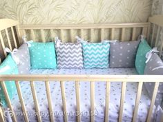 Baby Cribs, Baby Decor, Handmade Baby, Girls Bedroom, Ideas Para, Baby Room, Baby Gifts, Pillows, Toys