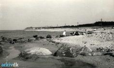 arkiv.dk | Overby Lyng - Stranden 1955.