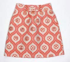 NWT Authentic Tibi boutis skirt floral sold out aline (lined) women's skirt SZ 4 #Tibi #ALine