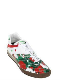 best service f1f2f 42f27 BASKETS EN CUIR COUPE DU MONDE ITALIE Creepers, Leather Trainers, World  Cup, Italy