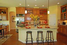 Love the kitchen! @ Massey Estates!