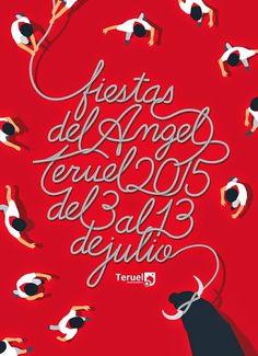 Cartel de las Fiestas del Ángel 2015 Título: Letras Ensogadas Autor: Héctor Olivares