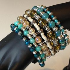 NYC Collection Beaded Wrap Bracelet by Lalecreations on Etsy