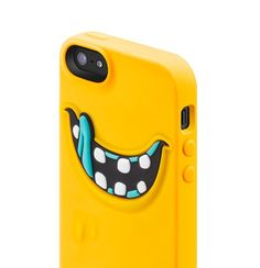"""If you are a fan of """"Monsters' university"""", this bright orange case is definitely for you! Monster University, Cool Cases, Mobile Phone Cases, Iphone Se, Cool Stuff, Product Shot, Monsters, Tech, Bright"""