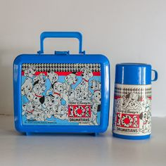 !!!! so much like my old one    Aladdin Walt Disney's 101 Dalmatians  BLUE  by OneLeggedCricket, $28.00