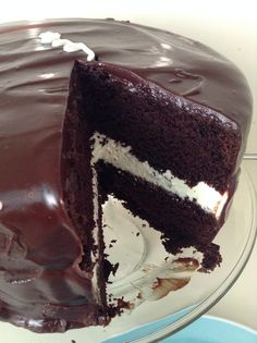 I found this fab-looking Ding Dong Cake recipe on Chocolate, Chocolate and More and knew that I had to try it. We had some family over this past weekend so I decided to use the extra company as an ...