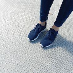 Nike Roshe Run Azules Marino