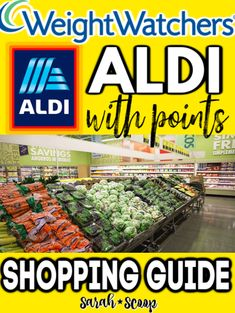 Weight watchers aldi shopping guide 50 weight watchers recipes with smartpoints freestyle breakfast snacks dinner desserts Weight Watchers Snacks, Weight Watchers Tipps, Weight Watchers Points Plus, Weight Watchers Meal Plans, Weigh Watchers, Weight Watchers Breakfast, Weight Watchers Motivation, Weight Watchers Program, Weight Watcher Shopping List