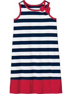 So Breezy Sundress from #HannaAndersson. navy/white for 4th July  reg 28 on sale 20, with 20% off $16 plus $5.95 s in size 130