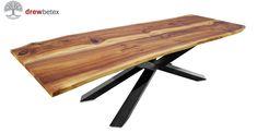 Table walnut 320cm.