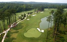 Want a Pinehurst, NC style course? Try UNC's Finley Golf Course.