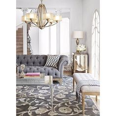 Beautiful French Country Living Room Decor Ideas - Page 12 of 88 Living Room Grey, Formal Living Rooms, Home Living Room, Living Room Designs, Living Room Furniture, Living Room Decor, Classic Living Room, Modern Living, Living Room Inspiration