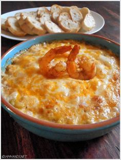 Spicy Creole Shrimp Dip. - Probably the best shrimp recipe I have ever tasted in my life.