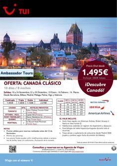 Oferta Canadá Clásico. 8 noches. De Noviembre a Marzo 2015 ¡PVP final desde 1.495€! ultimo minuto - http://zocotours.com/oferta-canada-clasico-8-noches-de-noviembre-a-marzo-2015-pvp-final-desde-1-495e-ultimo-minuto/