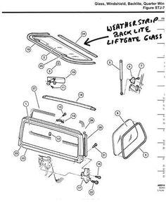 Hardtop Hardware Kit. Replaces Part #: 6506825K6. Fits