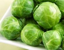 """creamy"" brussel sprouts - vegan/alkaline"