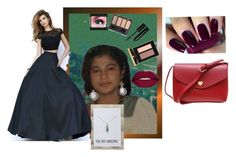 """""""Ferila 8"""" by contactlensvision ❤ liked on Polyvore featuring Bobbi Brown Cosmetics, Yves Saint Laurent, Smashbox and Sherri Hill"""