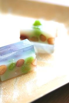 さざれ石 Sazare ishi - Japanese jelly sweets